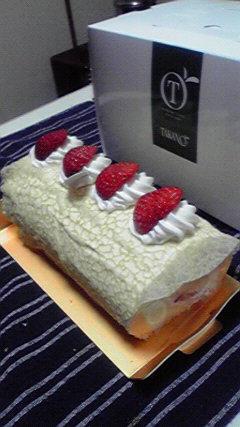 タカノのロールケーキ
