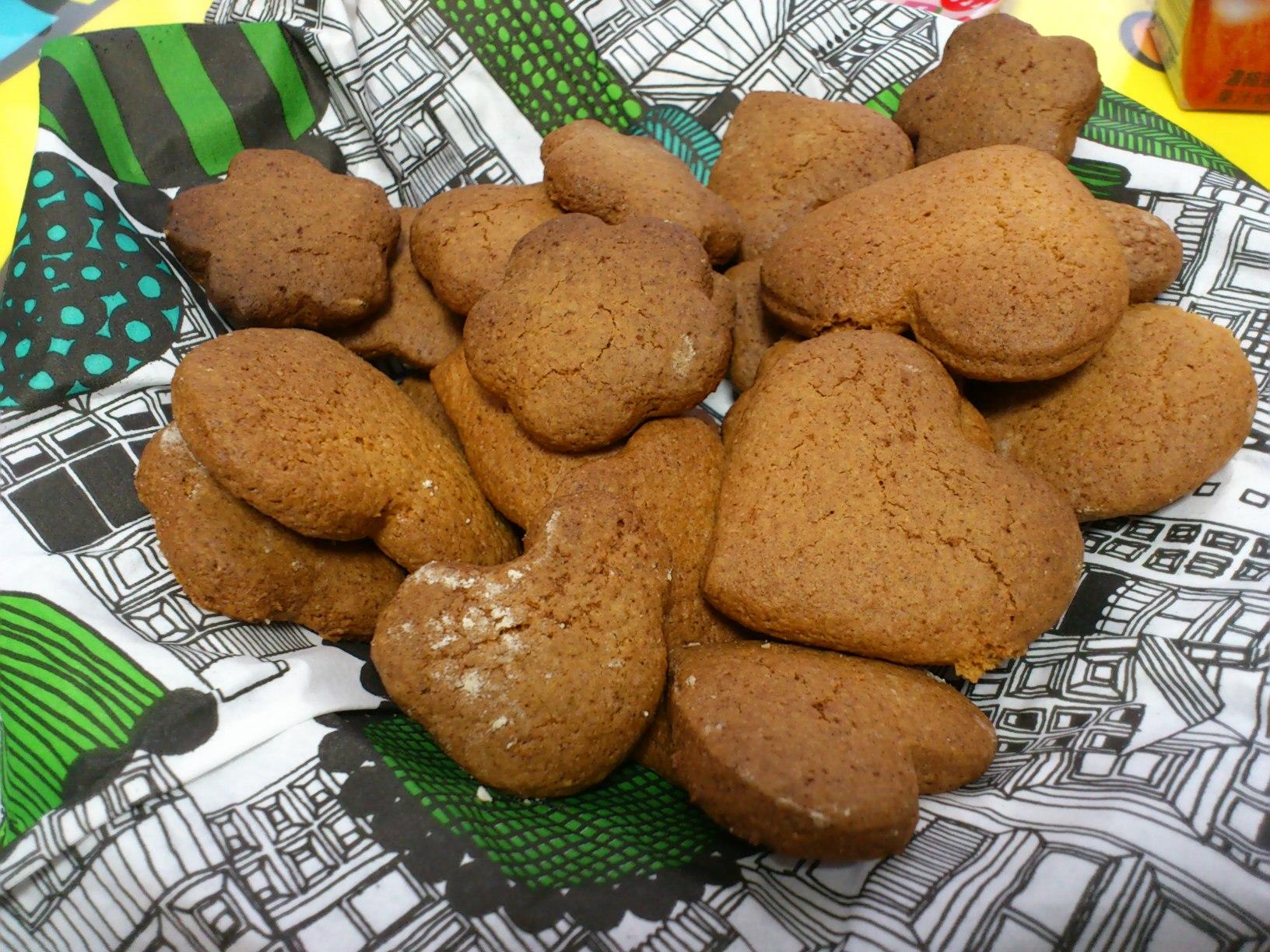 クッキー作りました